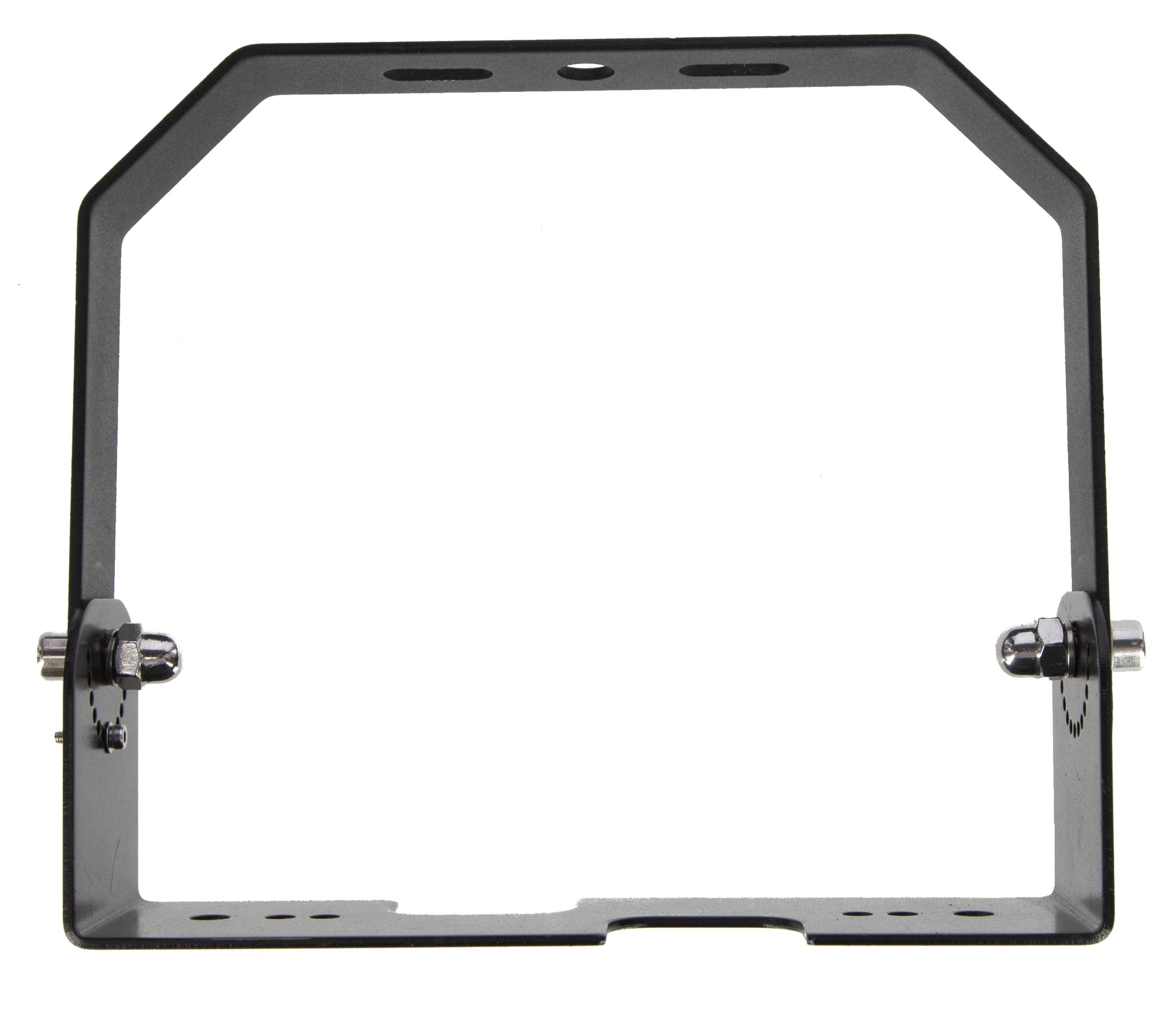Aufhängeset (Platte&Bügel) f. LED Hallenstrahler, Mod. 2019