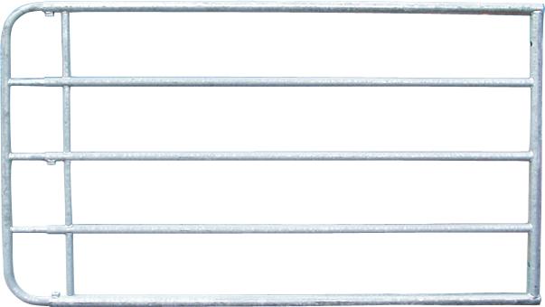 Verstellbares Weidezauntor, 1,10 m hoch, vz, inkl. Montageteile