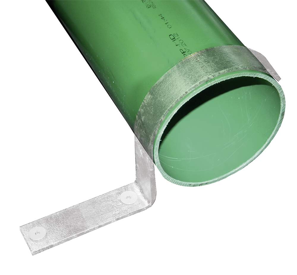 Bugrolle d= 160 mm, L= 5 m Wanddicke 5 mm