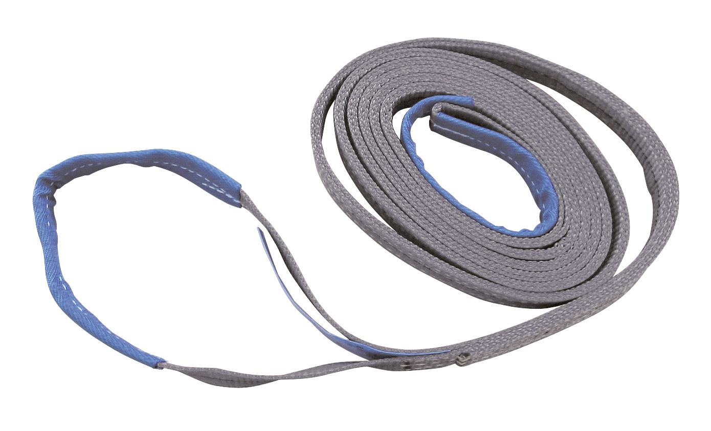 Hebeband, Tragfähigkeit 4t/8t 2-lagig, 4m, 12cm breit