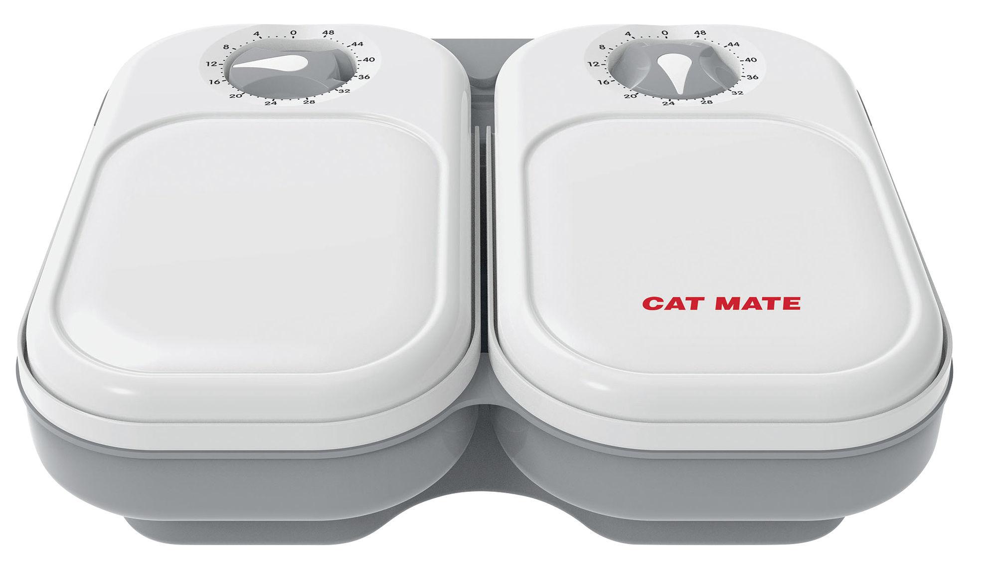 Cat Mate Automatischer  Futterspender 2 Mahlzeiten