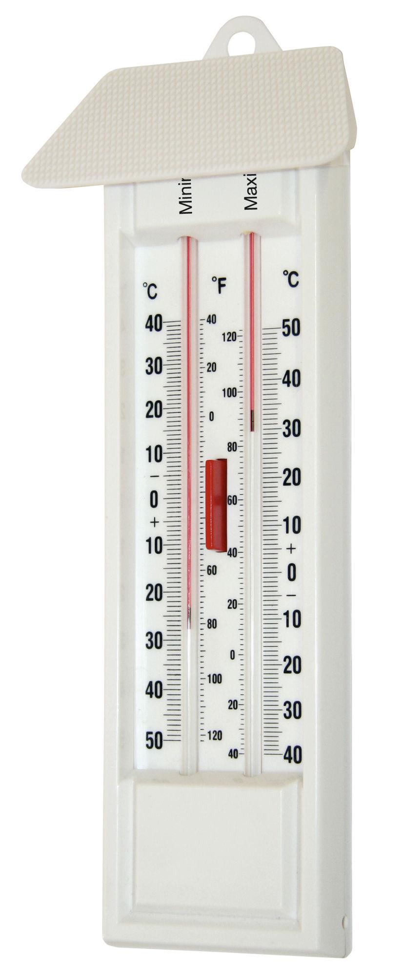 Maximum-Minimum-Thermometer  1 St./SB-Pack, quecksilberfrei