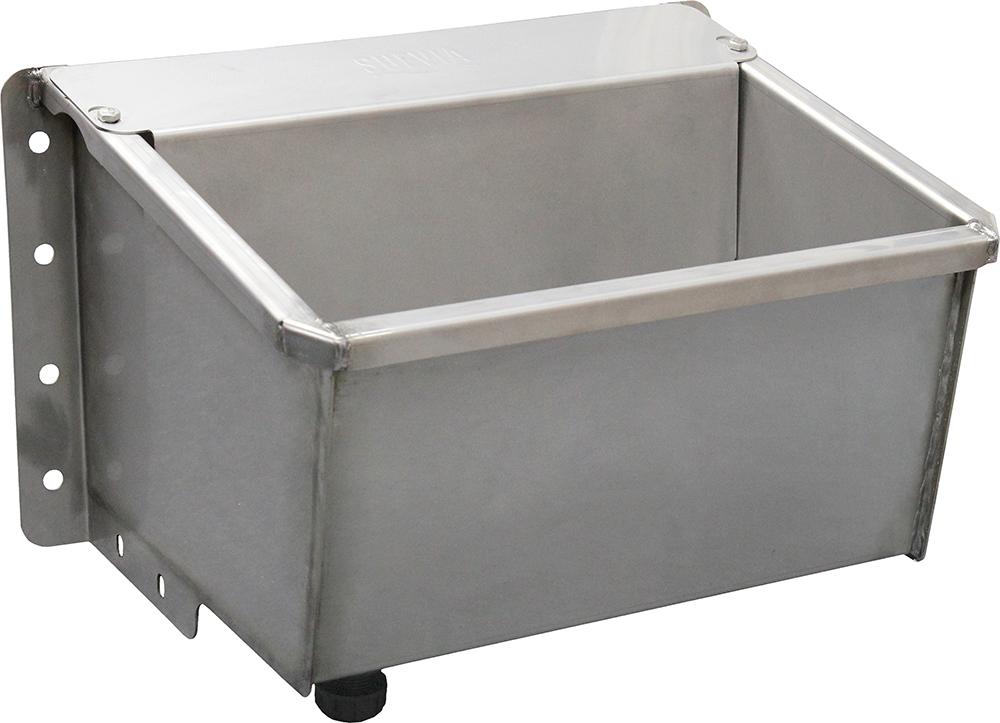 Kompakt-Trogtränke Mod. 6140 Edelstahl mit Maxiflow-Schwimmerventil