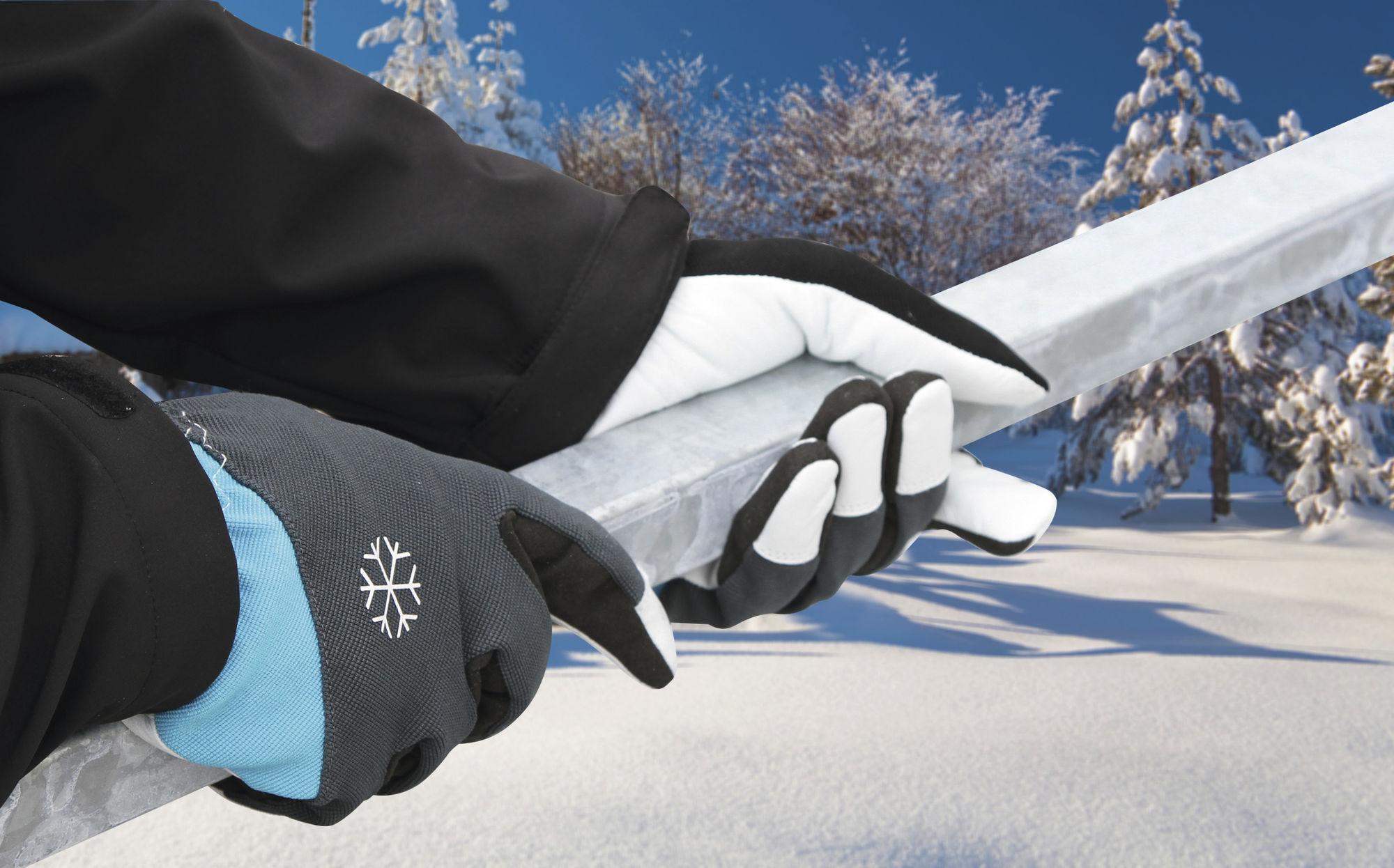 Winterhandsch Polartex II Gr10 Cr-frei gegerbt