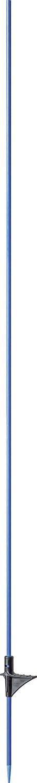 Glasfiberpfahl 1,60 m, mit Trittstufe blau, d=10mm (10 Stück / Pack)