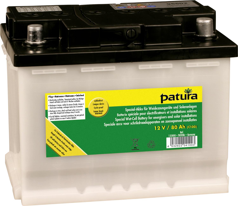 Spezial-Akku für Weidezaungeräte und Solaranlagen C100