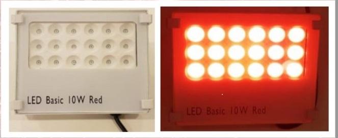 Agrilight LED Nachtlicht 10W rot