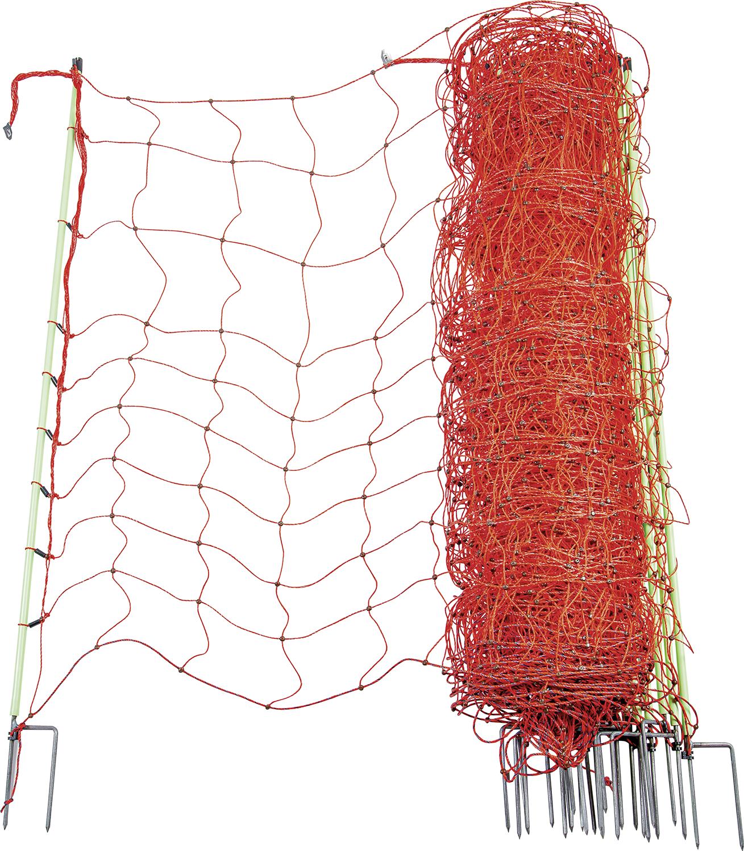 Elektrozaunnetz 120 cm hoch, mit Doppelspitze, 50 m