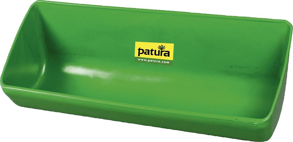 Kunststoff-Langtrog, 13 Liter, grün zum Anschrauben