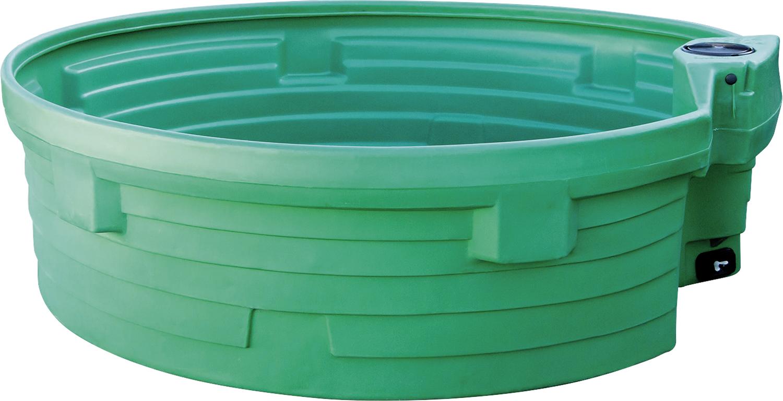 Weidetränke, rund, 1500 Liter d=2000x600 mm, ohne Schwimmerventil
