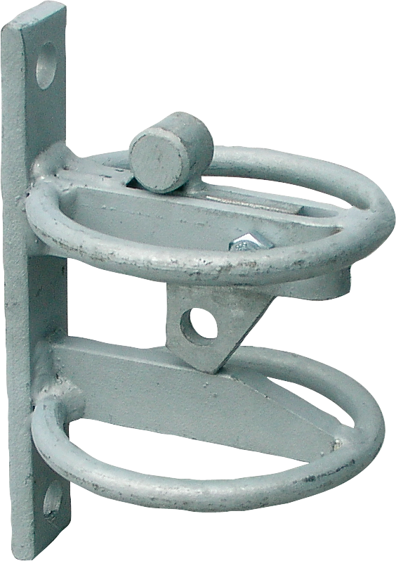 Riegelverschluss für Weidetore, (zusätzlich), verzinkt