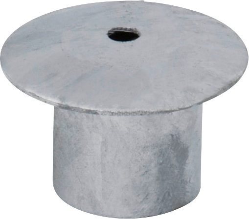 Abdeckung für Einbauhülse d= 60 mm