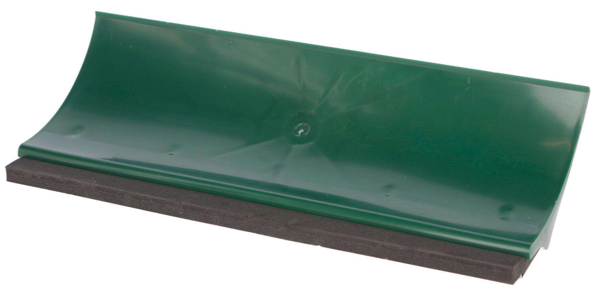 Kot- u. Gülleschieber Kunstst. rechteckig mit Gummilippe 46cm