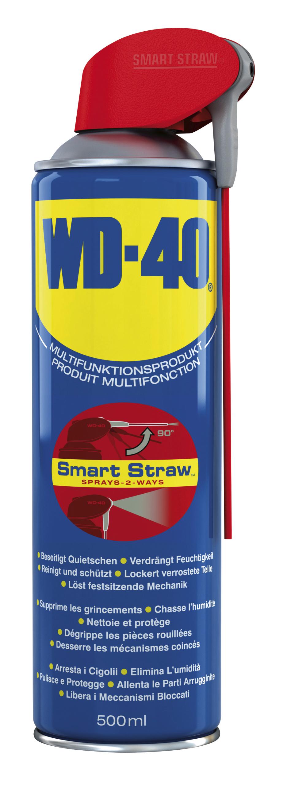 "WD-40 500ml ""Smart-Straw"""