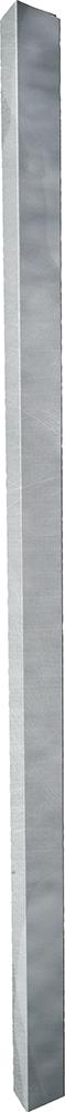 Metallpfosten für Weidetore, 80 x 80 mm L= 2,00 m