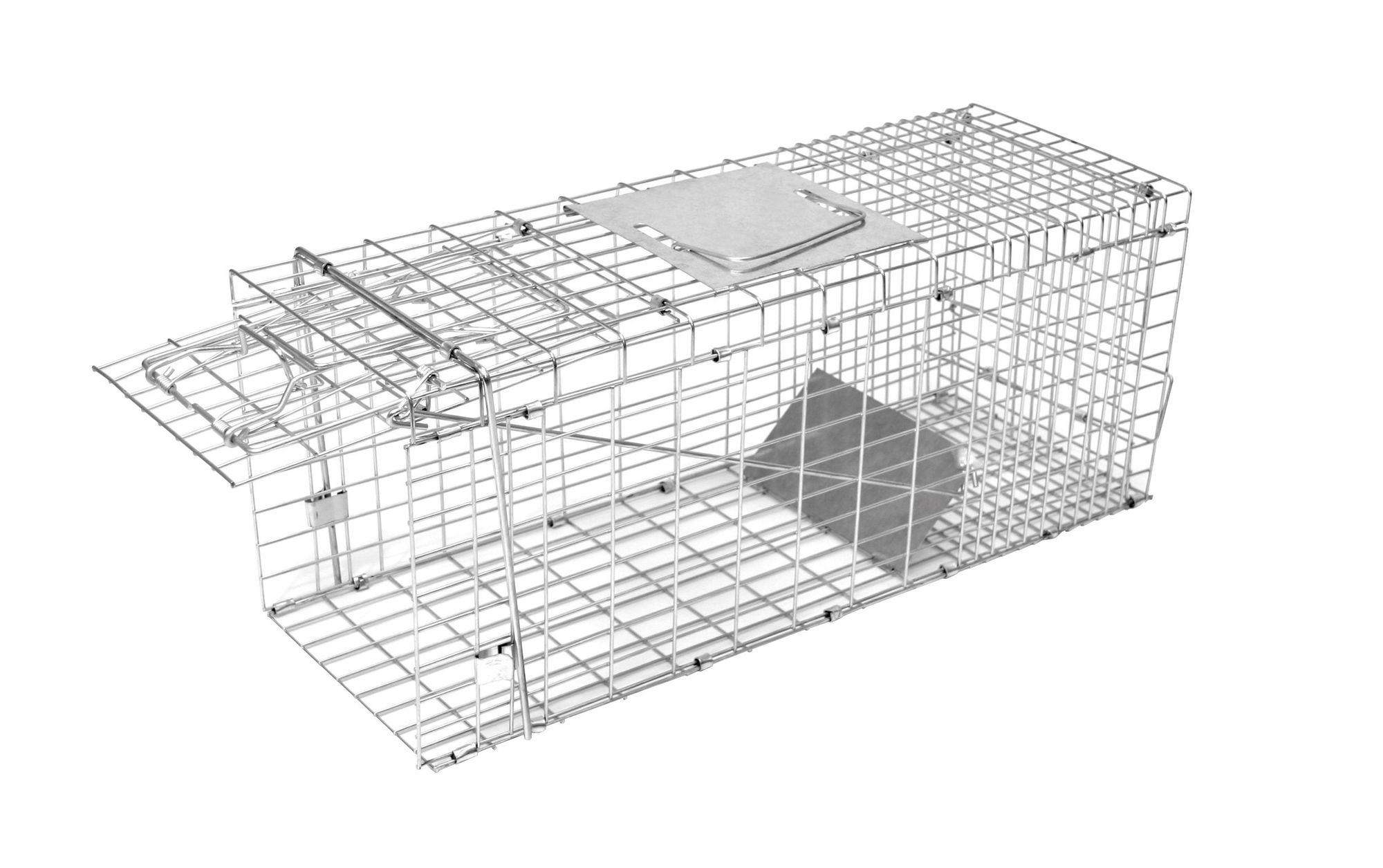 Kastenfalle klappbar mit 1 Eingang 66x23x24 cm