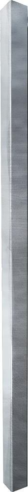 Pfosten Quadrat 90 mm mit Bodenplatte