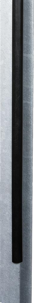 PVC-Schutzprofil für Metallpfosten Länge 50 cm