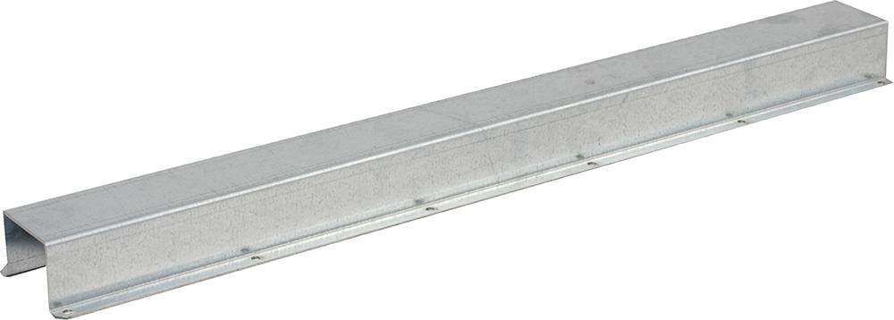 Rohrschutz, 100 cm, Edelstahl für Tränkezuleitung