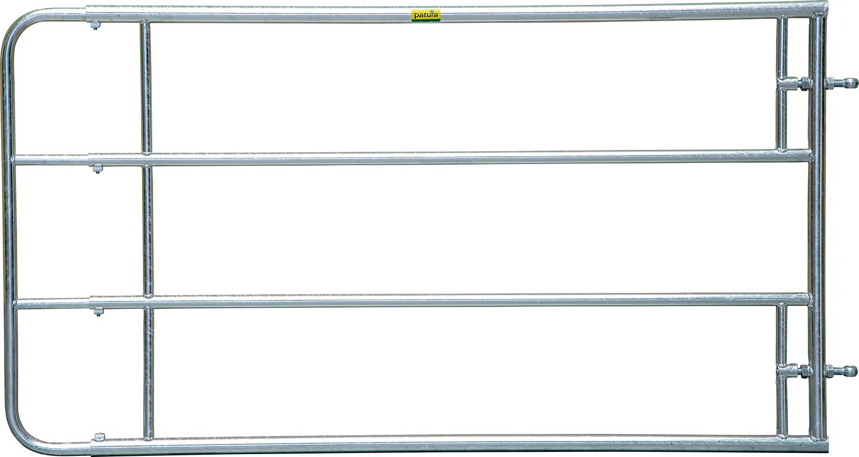 Verstellbares Weidezauntor, 4-reihig 1,10 m hoch, 1,45 - 2,00 m