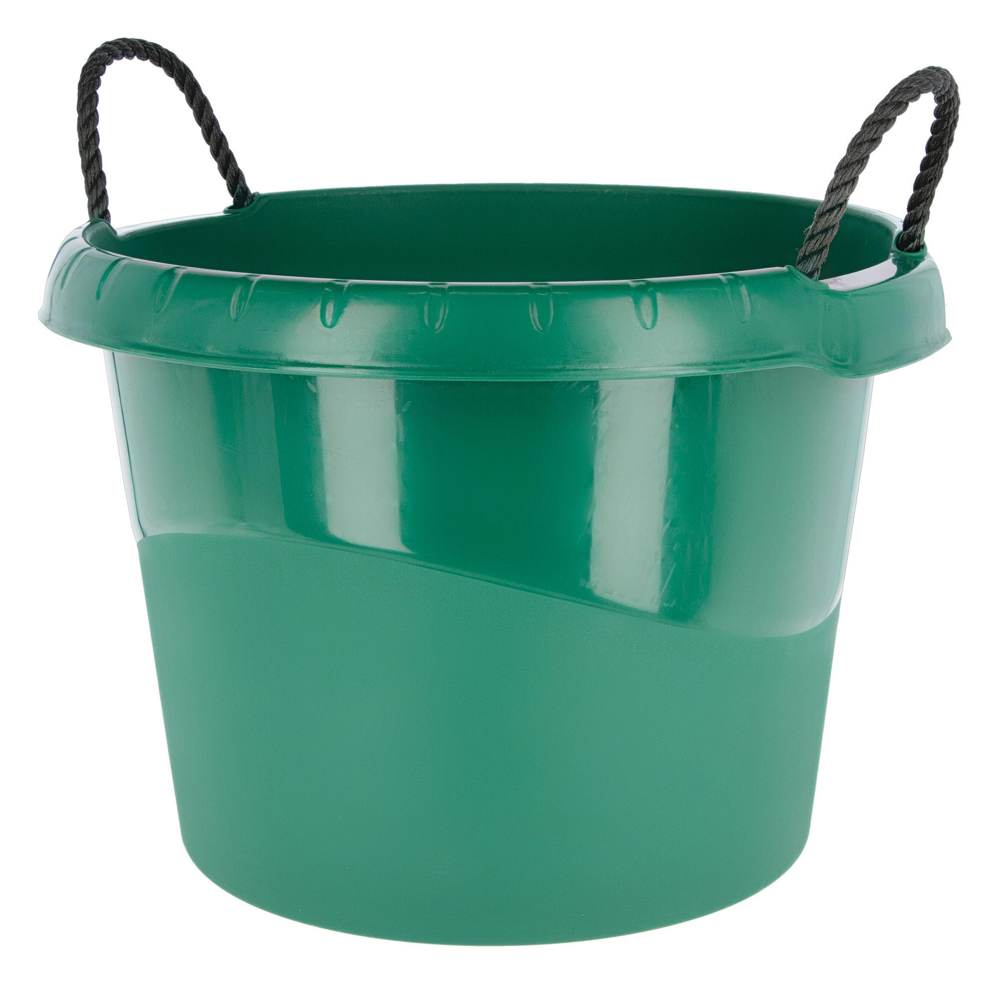 Wasser- und Futtertrog grün ca. 45ltr.