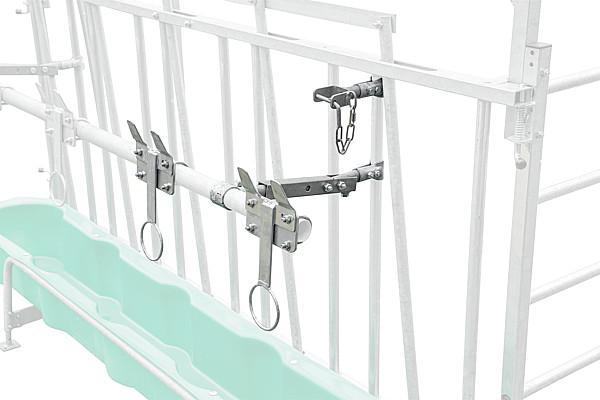 Nuckeleimer-Montagesatz für Kälber-Schrägfressgitter