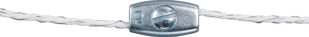 Litzenverbinder verzinkt, für Litzen bis 2,5 mm