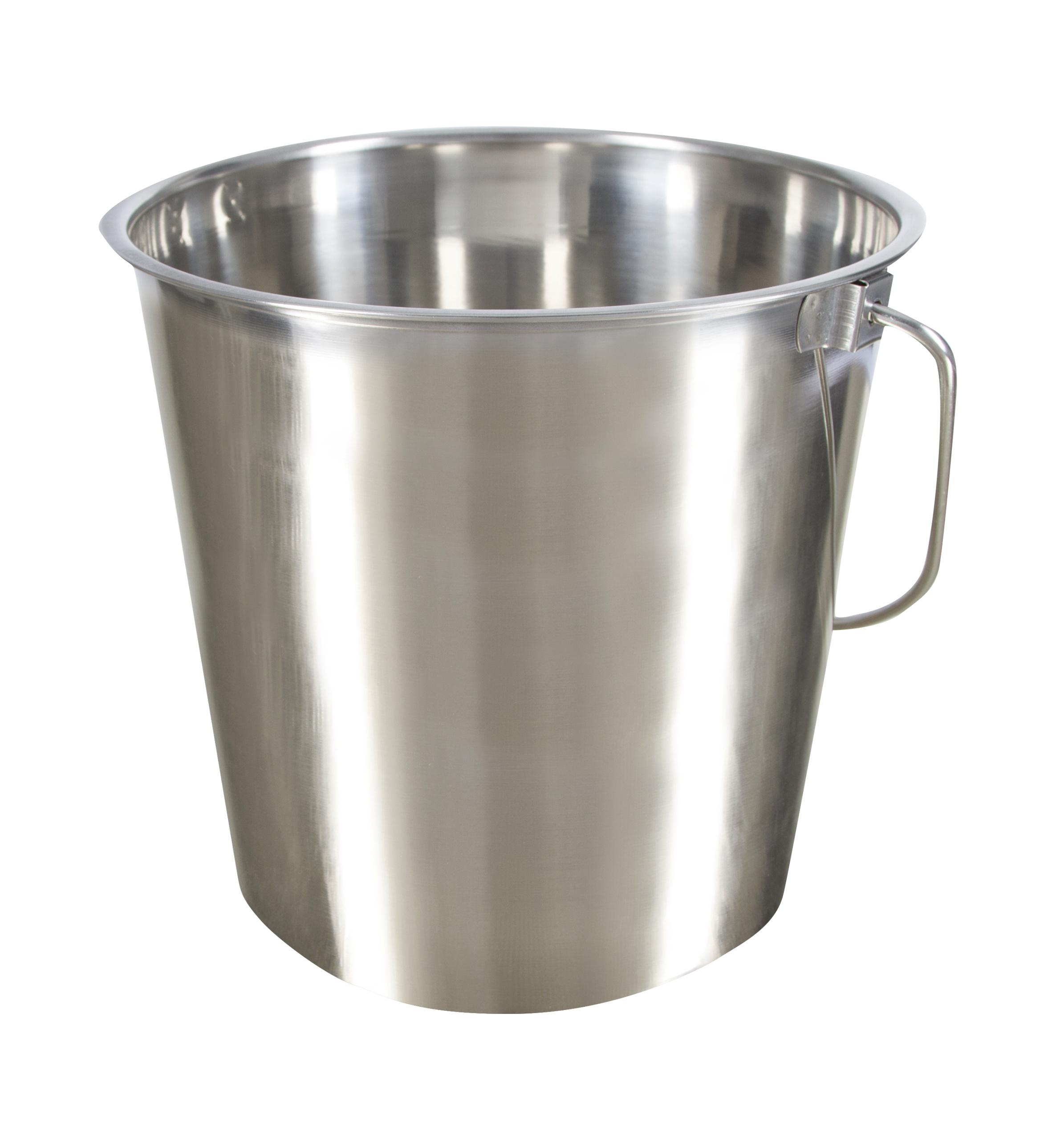 Edelstahleimer 8,5 Liter