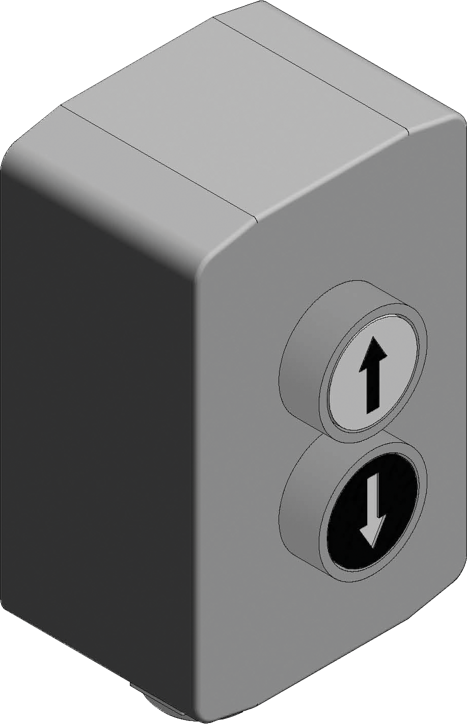 Elektro-Antrieb Basic, 1 Schalter für Agrartor Mod. 2018
