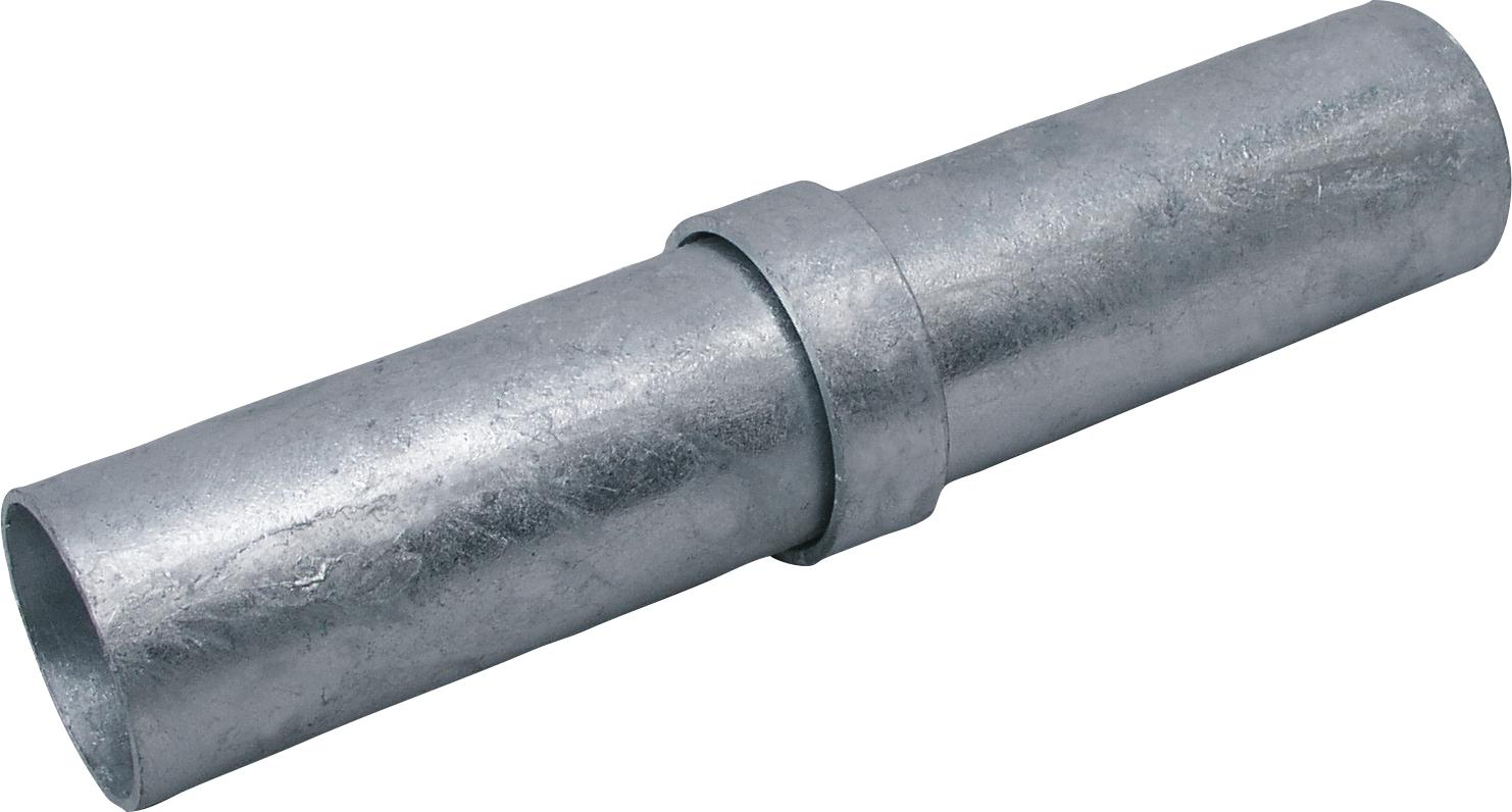 """Rohrkupplung innen für Rohr 60 mm 2"""", l= 26 cm außen d= 52 mm"""