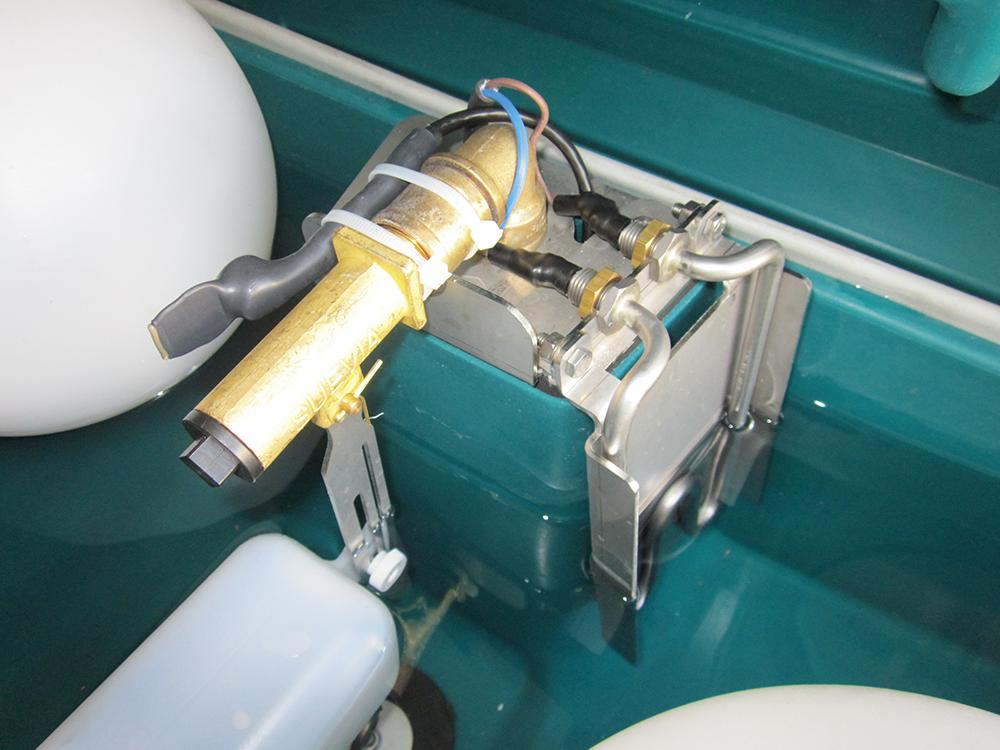 Zusatzheizung Thermoquell für Mod. 630/640, 24 Volt / 180 Watt