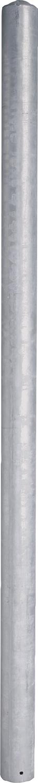 Pfosten d=76 mm, L=1,95 m Edelstahl