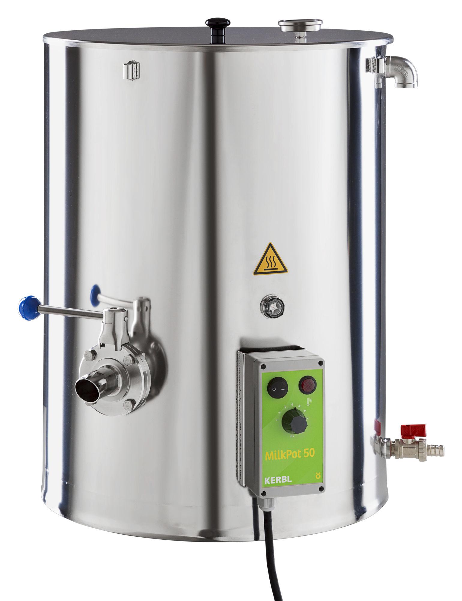 MilkPot 50 Milcherwärmer 50 Liter, 2500 W
