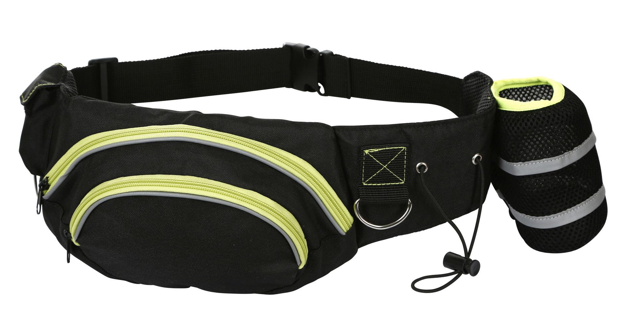 Trainings-Bauchgurt Active schwarz/pistazie
