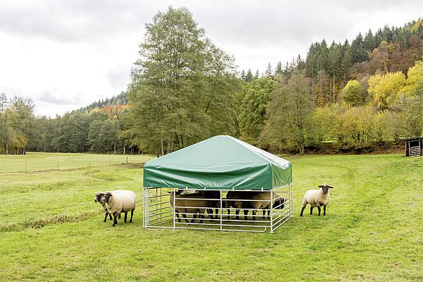 Windschutznetze für Steckfix-Horden für Steckfix-Dach 2,75 m x 2,75 m