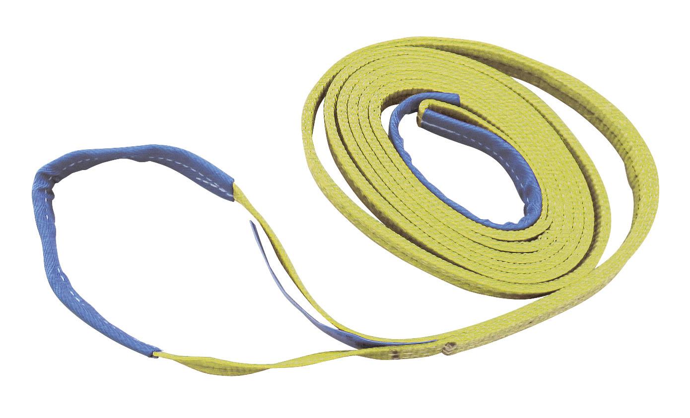 Hebeband, Tragfähigkeit 3t/6t 2-lagig, 2m, 9cm breit