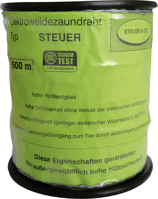 Spezial-Kunststoffdraht, transparent, Nylonseele, 2 verz. Drähte