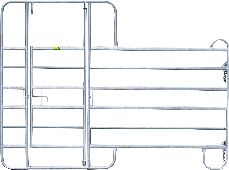 Panel-6 mit Behandlungstür 3 m Breite 3,00 m, Höhe 2,20 m
