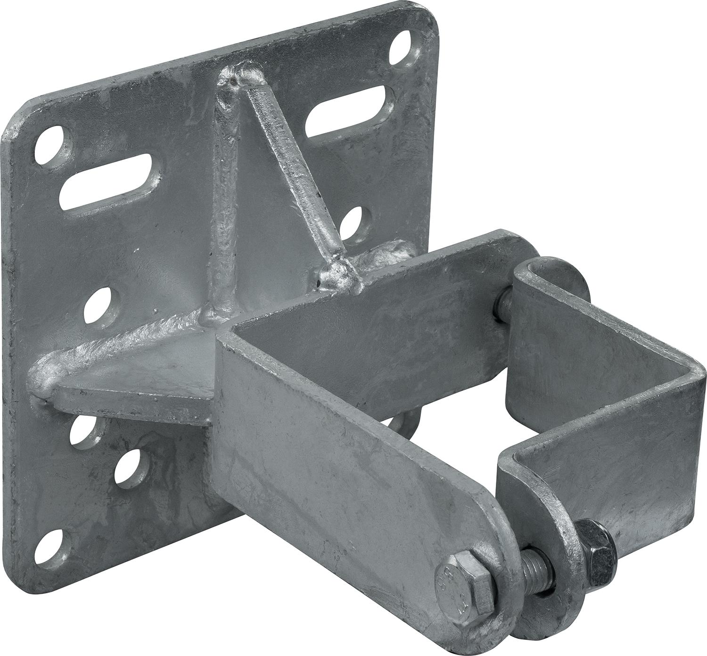Schelle Quadrat 90 mm, Halter für Tränkebecken, vz