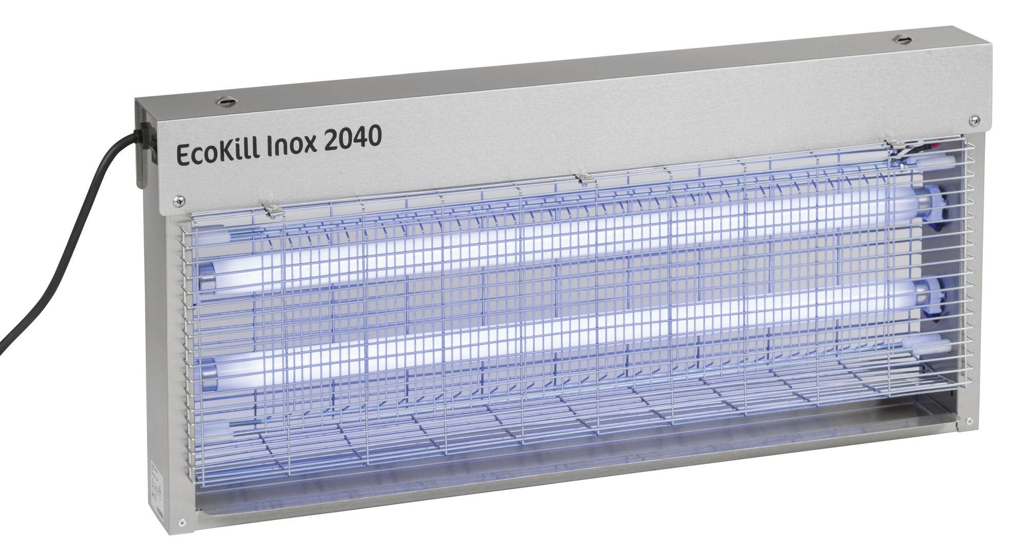 Elektr. Fliegenvernichter EcoKill Inox 2040