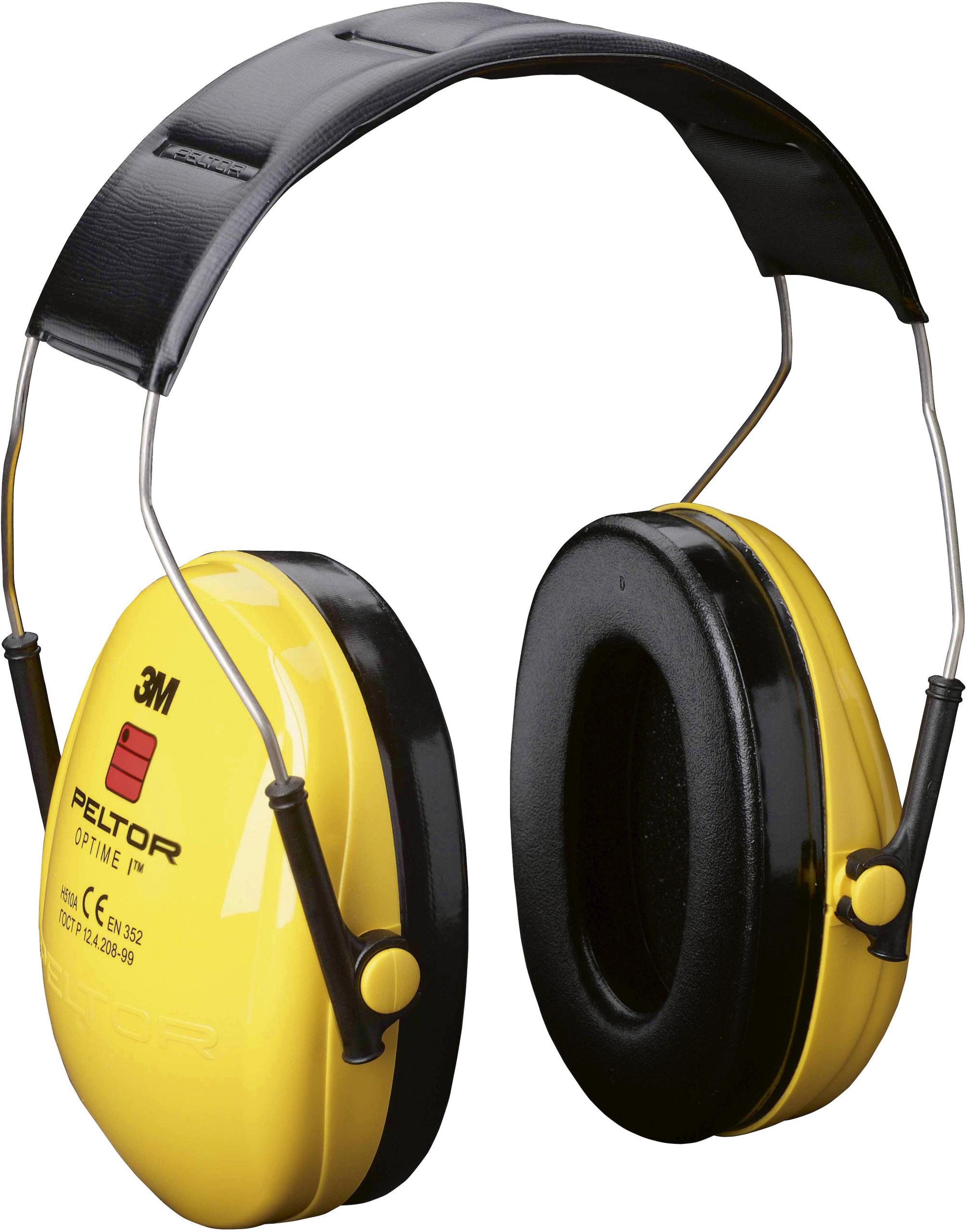 Gehörschutz Optime I mit Kopfbügel, EN352-1