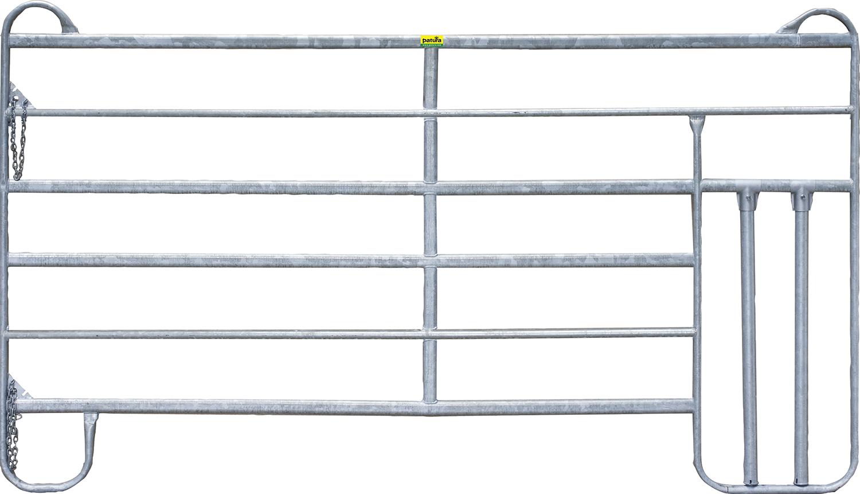 Panel-6 mit Kälberschlupf 3 m Breite 3,00 m, Höhe 1,70 m