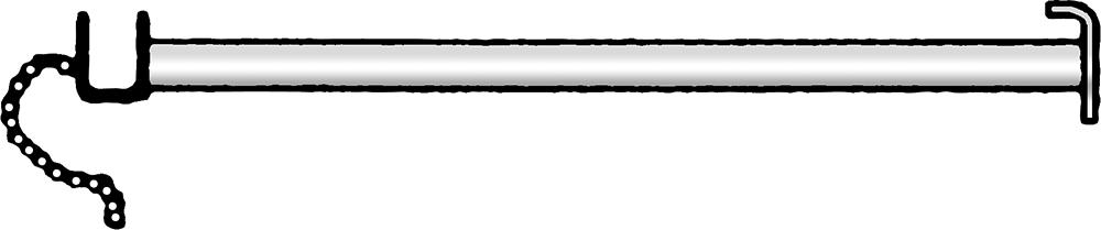 Stabilisierungsstange 3,05 m, vz