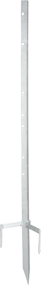 Metalleckpfahl Super für mobile Zäune
