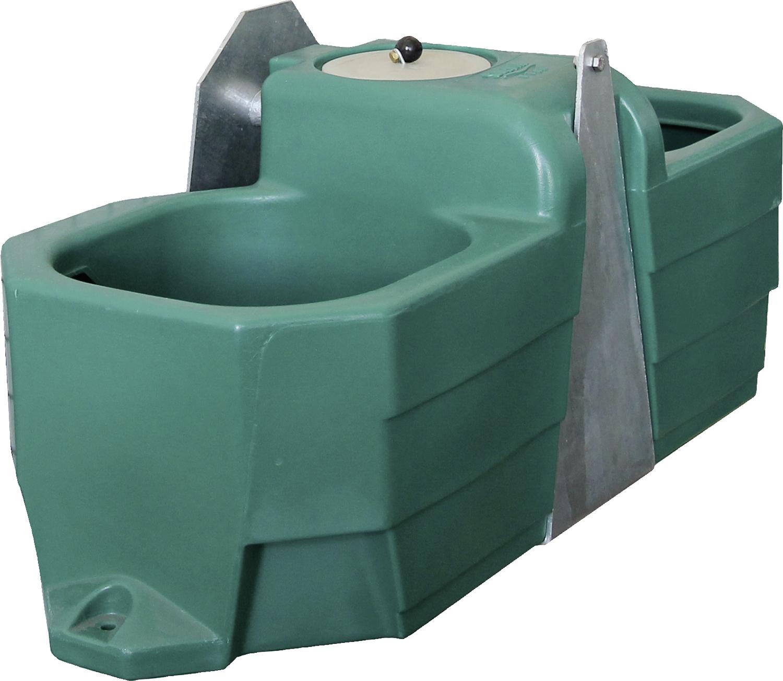 Anbau-Doppeltränke für Weidefässer Mod. FT80