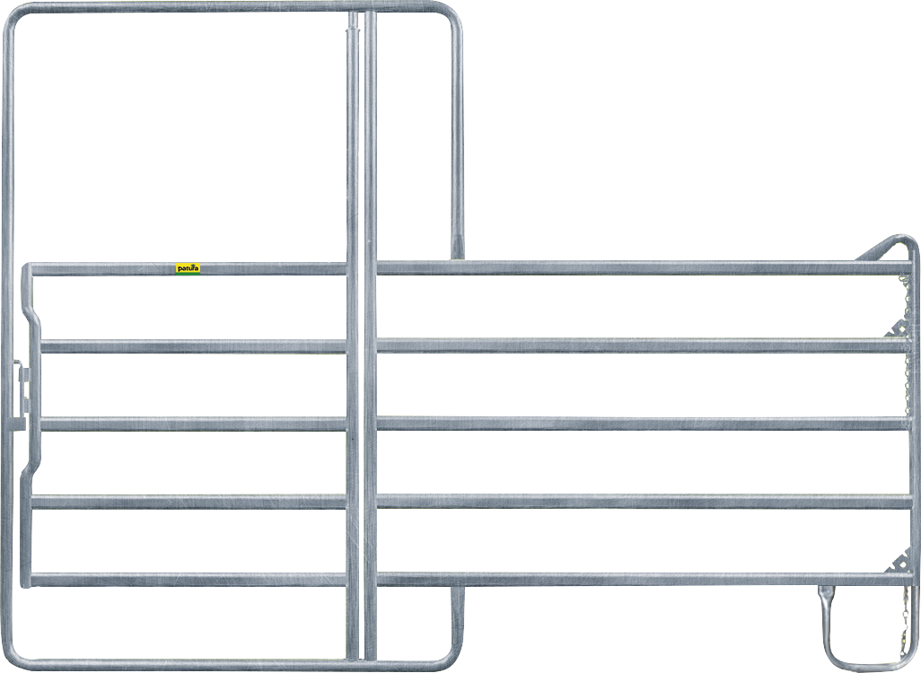 Panel-5 mit Tor Höhe 2,20 m