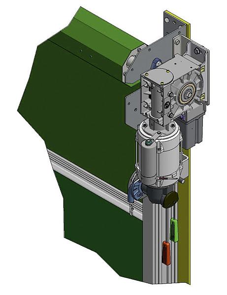 Elektro-Antrieb Agrartor PLUS 400 V mit Steuerbox und 2. Schalter
