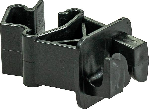 Standard-Isolator für T-Pfosten, schwarz