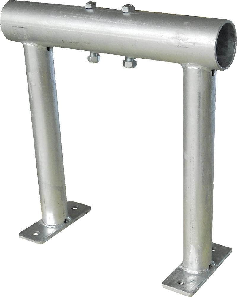 Montagebock für Tiefbox 400 x 620 mm mit zwei Klemmschrauben