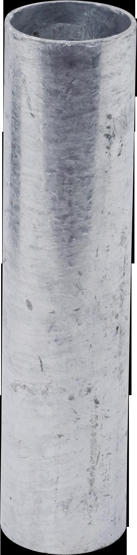 Einbauhülse, 30 cm für Pfosten 60mm d= 60 mm, vz